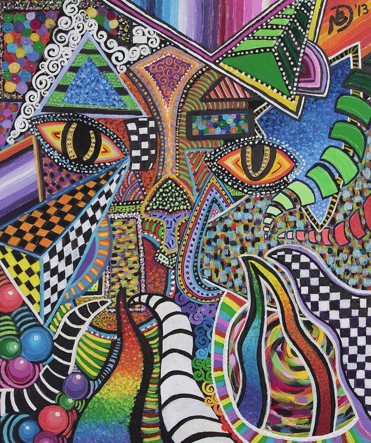 Electric Eyes by Nicole Dumond-Barry