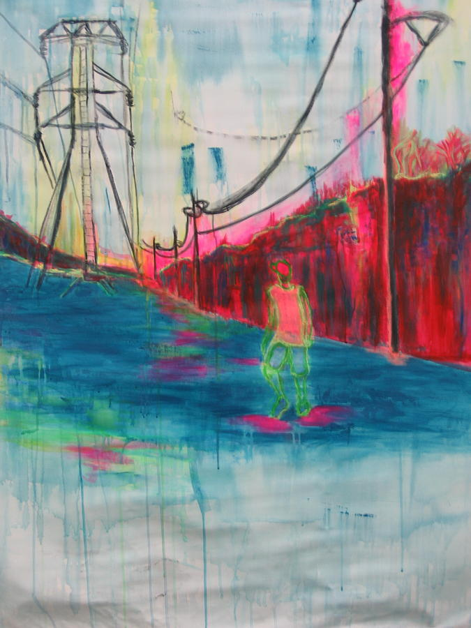 Man Painting - Electric Feel by Moby Kane