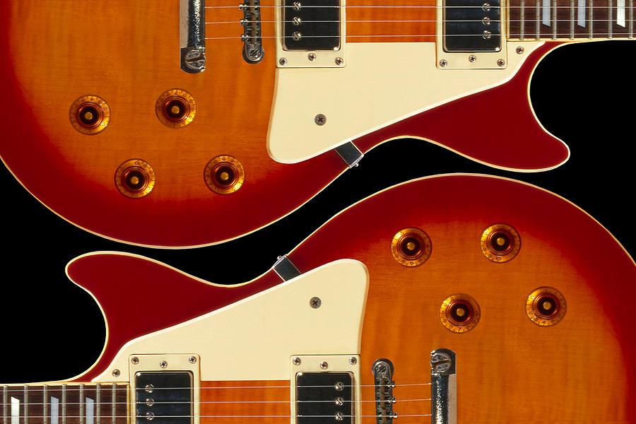 Guitar Photograph - Electric Guitar II by Mike McGlothlen