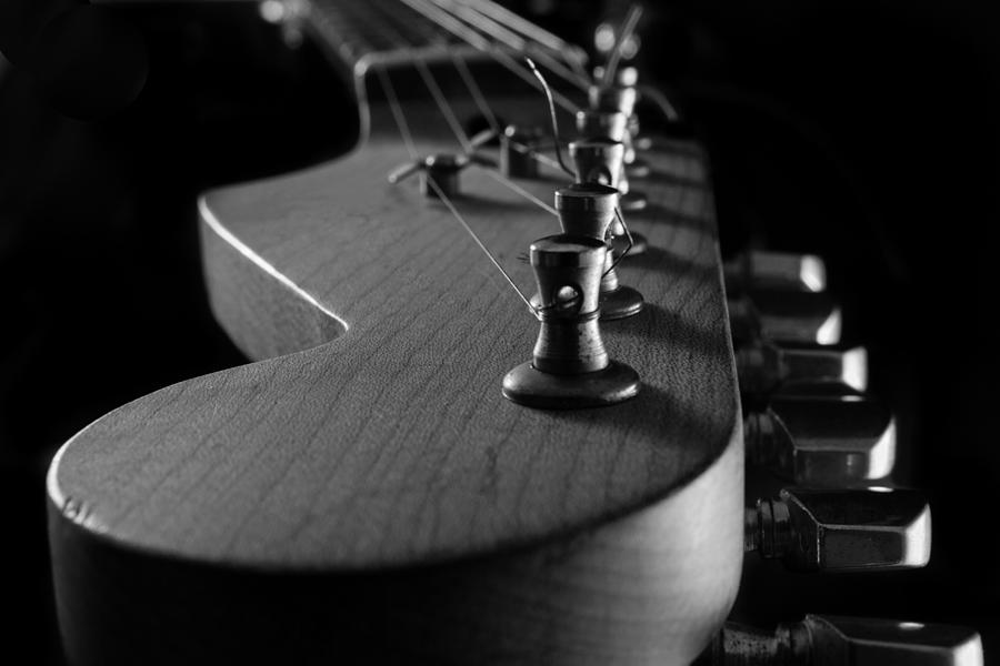 Electric Guitar Neck Close Up A Photograph By Iordanis Pallikaras