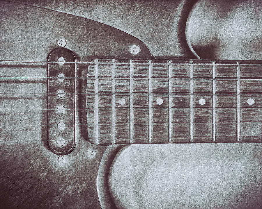 Electric Guitar Photograph