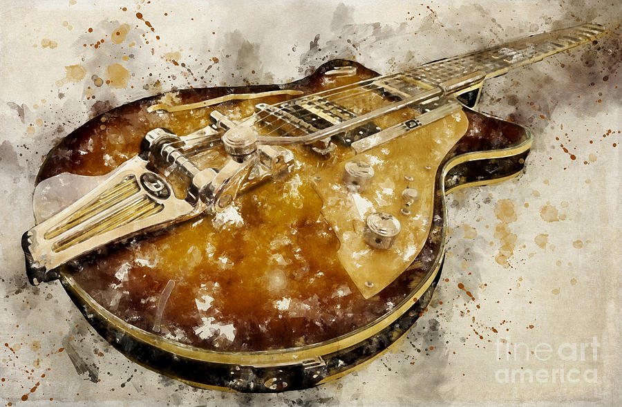 Electric Guitar by Teresa Zieba