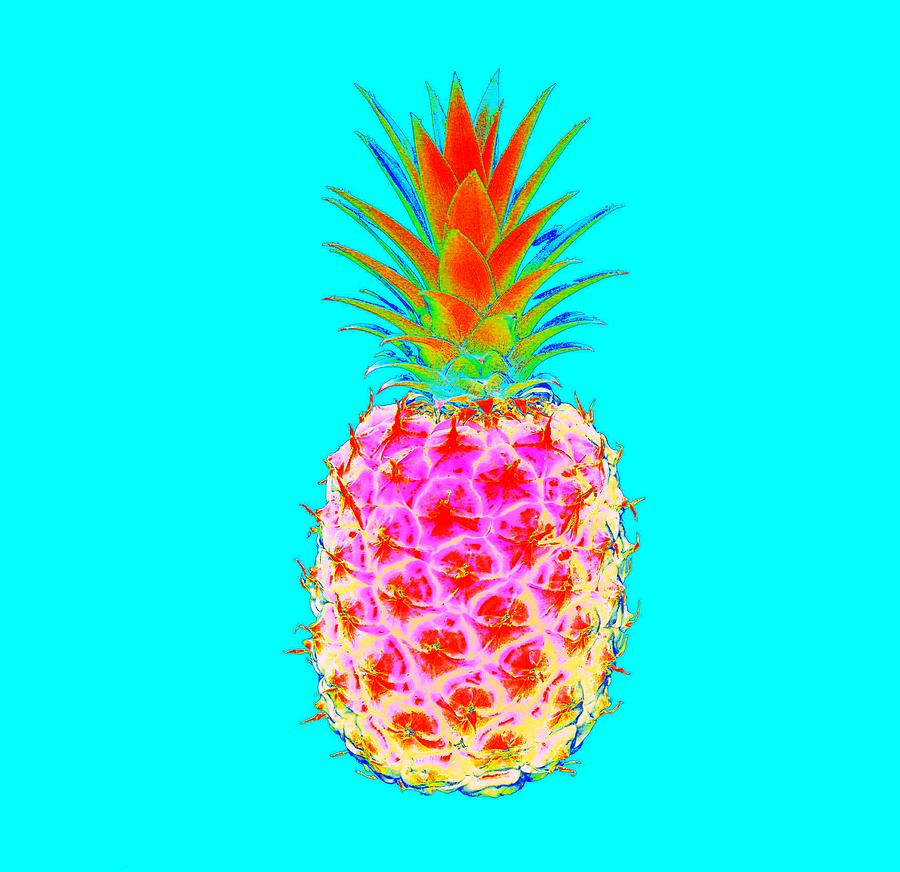 Electric Pineapple Photograph