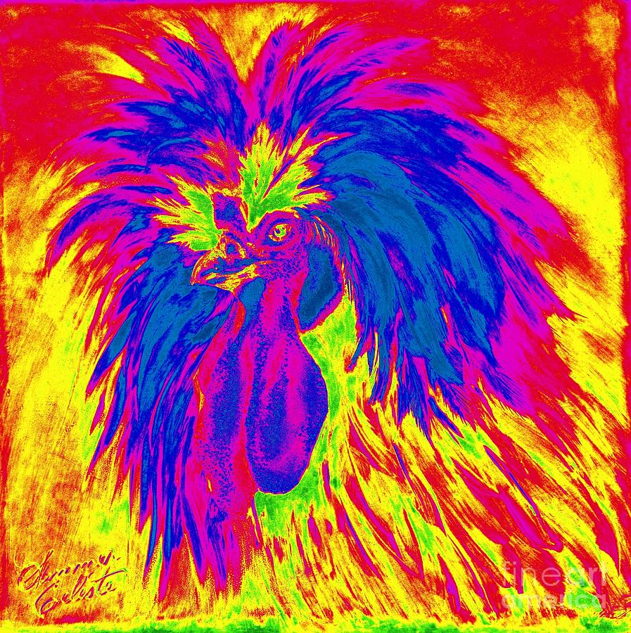 Electric Polish Hen by Summer Celeste