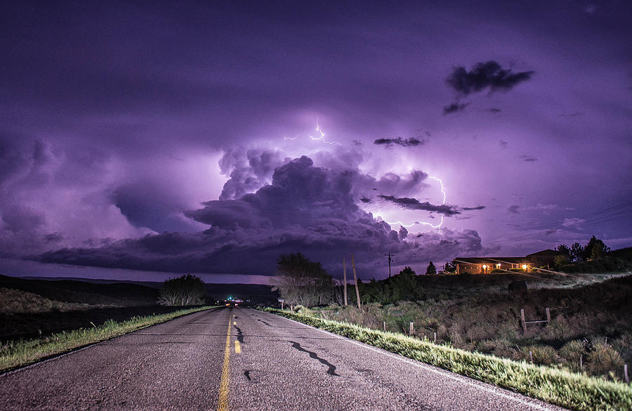 Electric Purple Haze by Marcus Hustedde