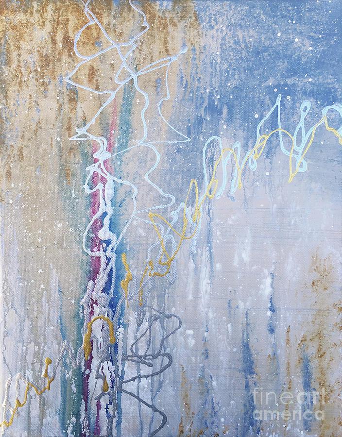 Electric Snowfall by Linda Cranston