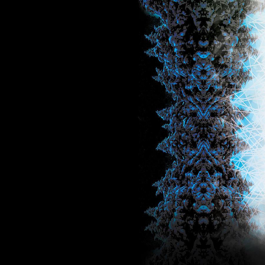 Graphic Design Digital Art - Electric Stalk by Aaron Kreinbrook