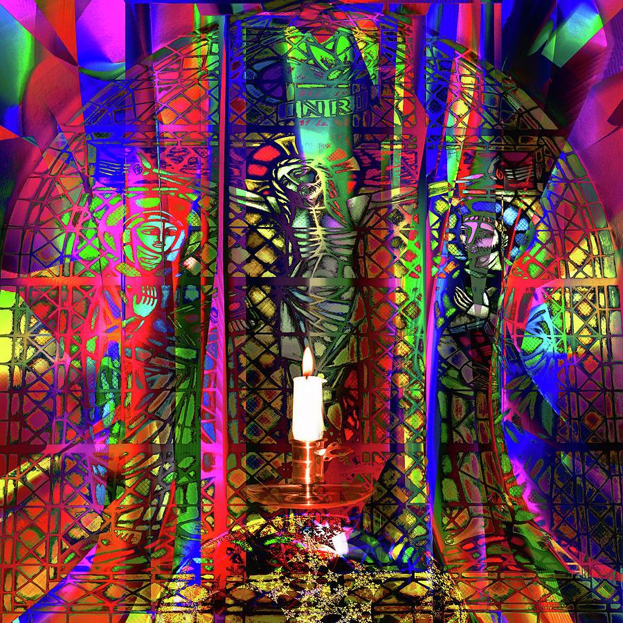 Light Digital Art - Electromagnetic Light by Joseph Mosley