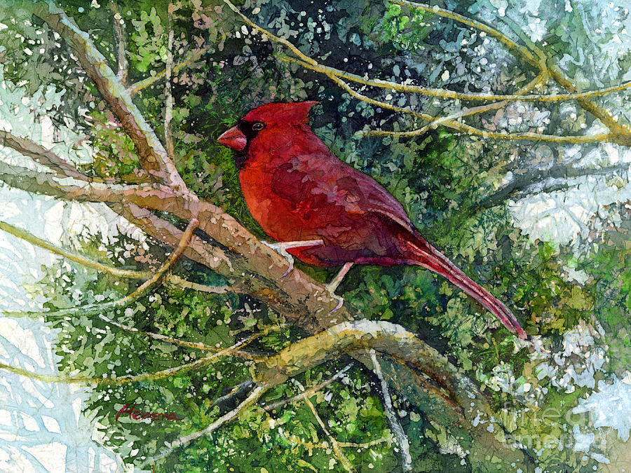Elegance In Red Painting