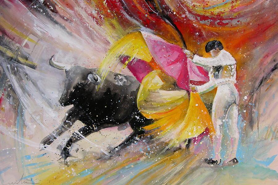 Animals Painting - Elegance by Miki De Goodaboom