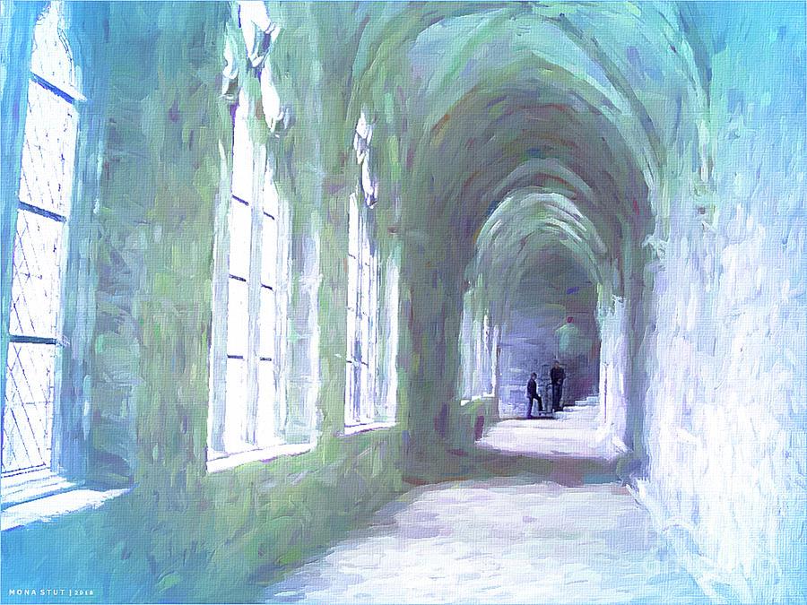 Elegant Archway Digital Art