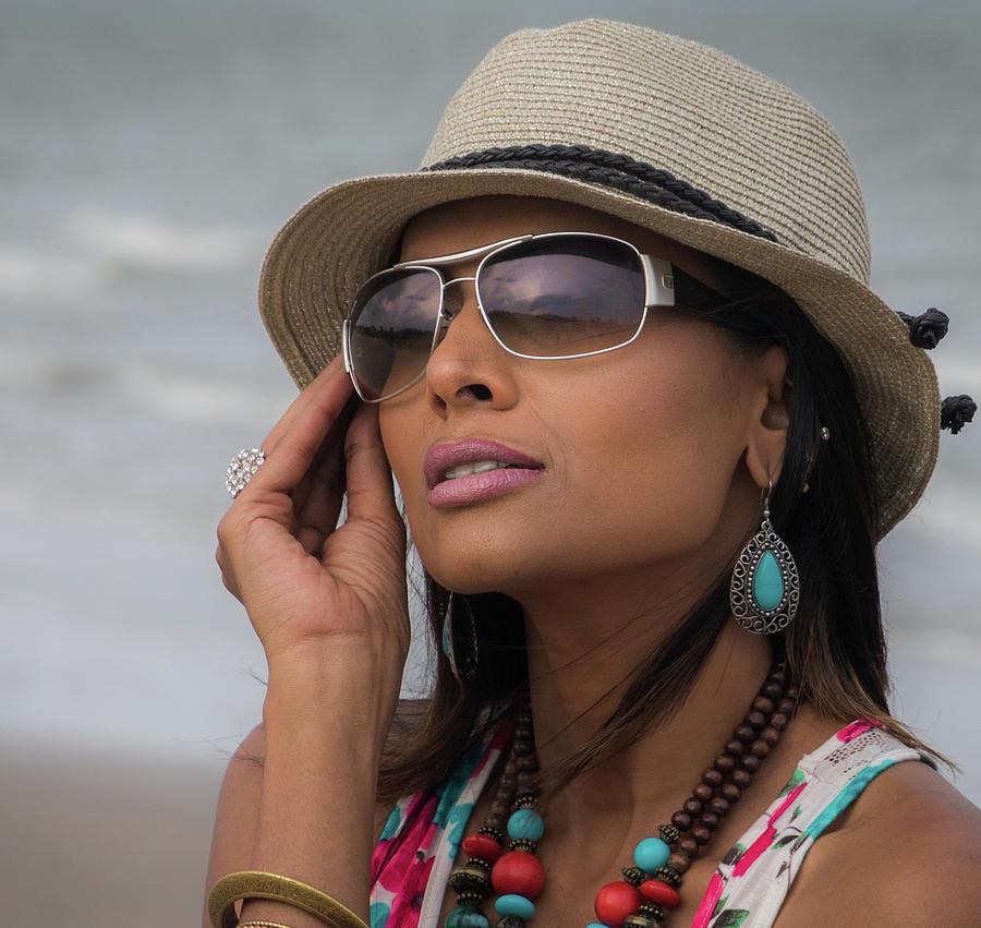 Elegant Beach Fashion Photograph