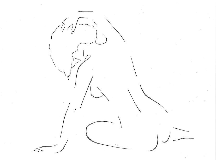 Elegant Drawing - Elegant  by Jeffery Black