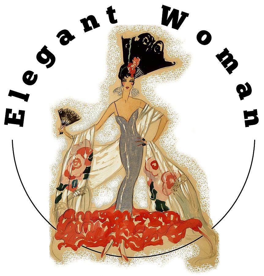 Elegant Woman Digital Art - Elegant Woman by Robert G Kernodle