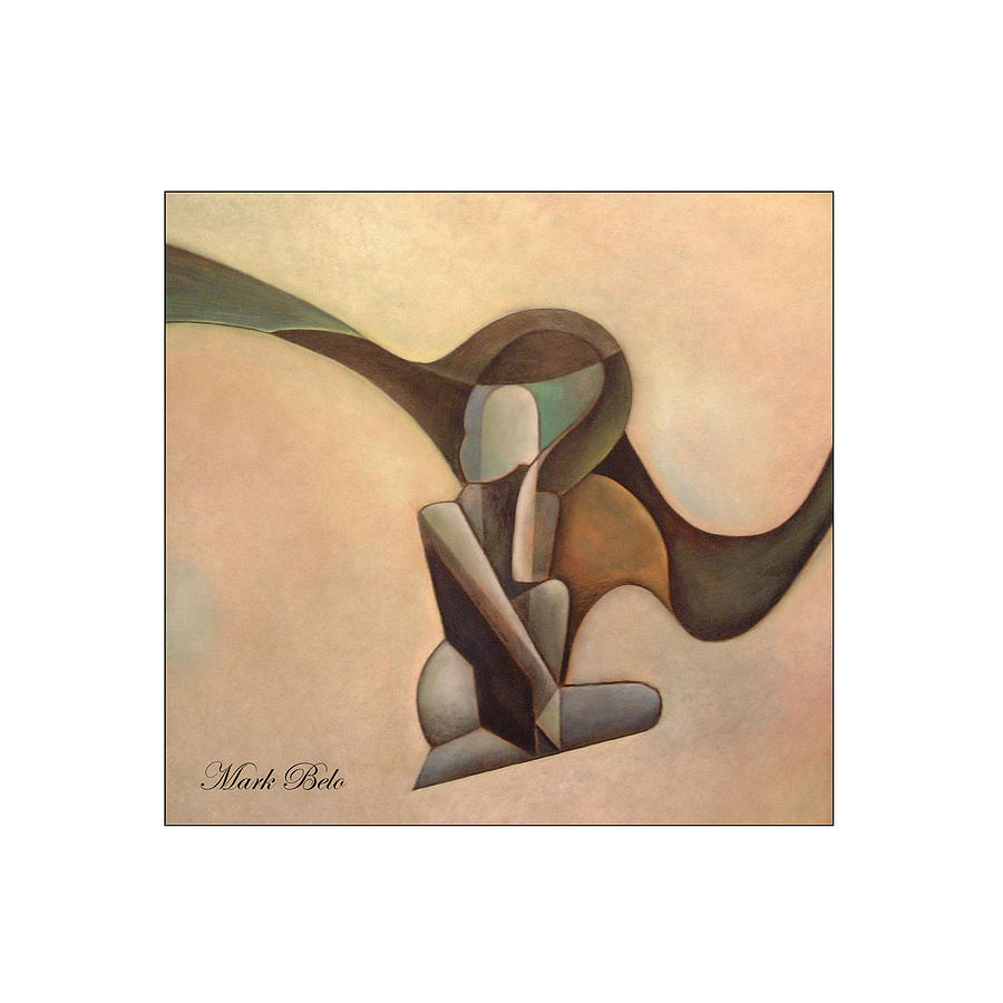 Figurative Painting - Elegant Women by Mark Belo