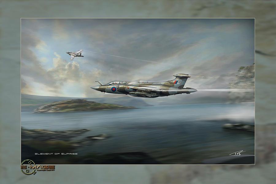 War Digital Art - Element Of Suprise by Peter Van Stigt