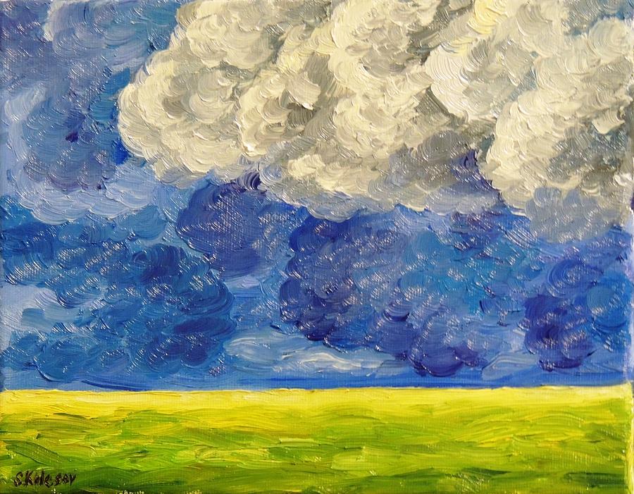 Landscape Painting - Element by Sergei Kolesov