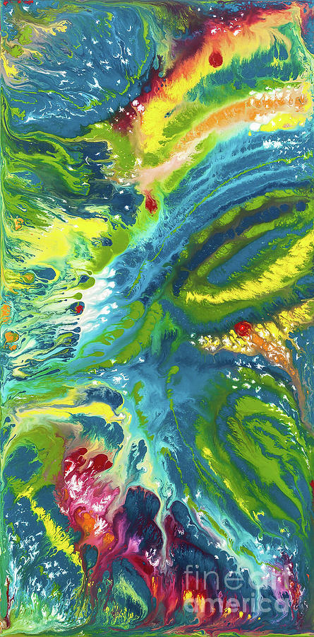 Abstract Painting - Elemental by Dianne Bartlett