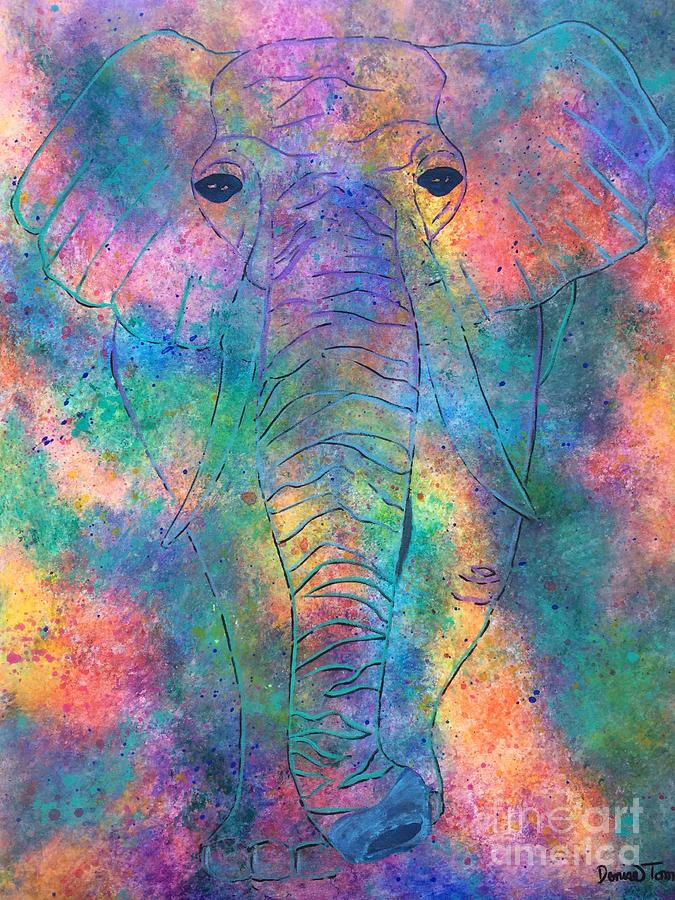 Elephant Spirit by DENISE TOMASURA
