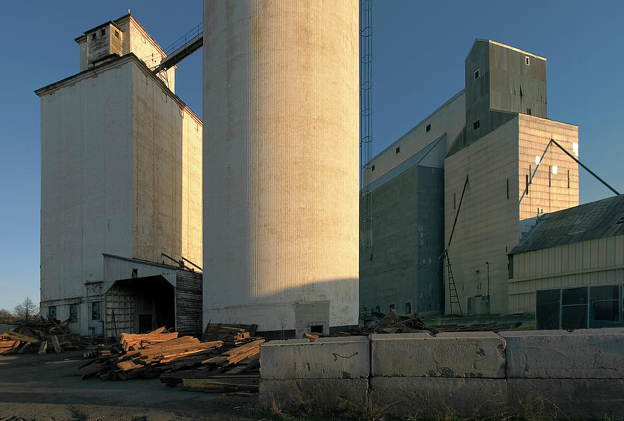 Elevators In Moscow Idaho Photograph by Jerry McCollum