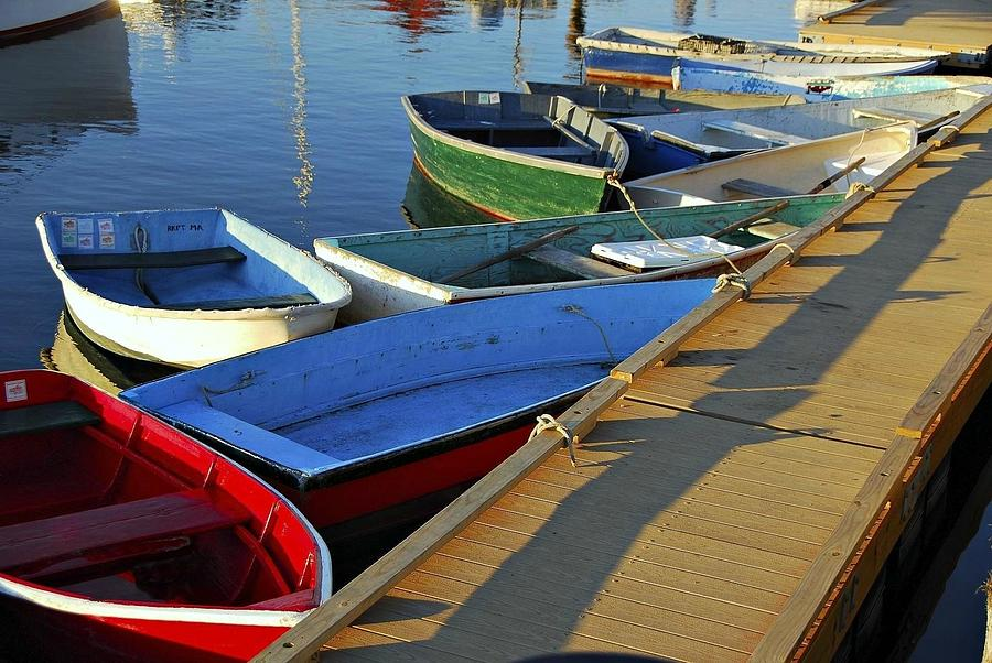 Eleven Dinghies by AnnaJanessa PhotoArt