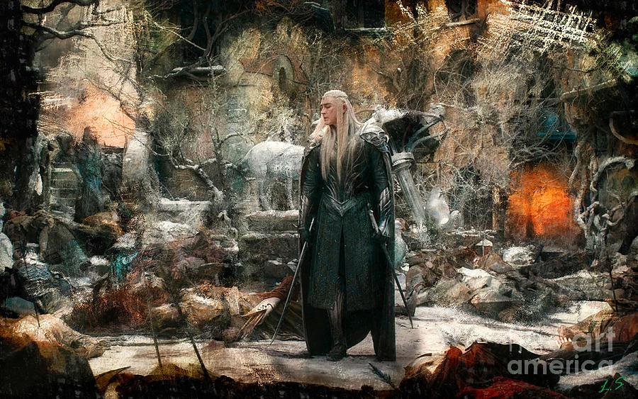 Thranduil Middle Earth in 2019 Hobbit art Elf drawings Thranduil