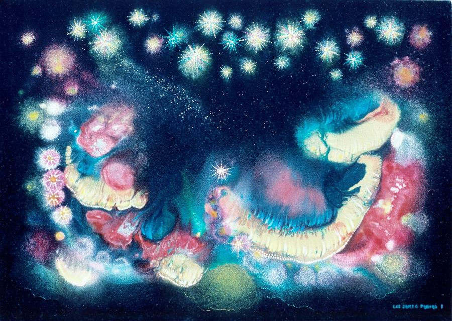 Spiritual Painting - Elijahs Dream II by Lee Pantas