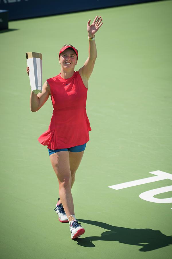 Elina Svitolina Champion by Bill Cubitt