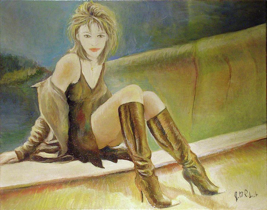 Elizabeth Hurley by Jean-Marc Robert