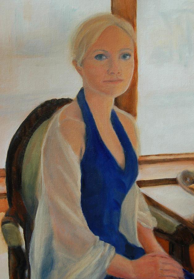 Lisa Painting - Elizabeth by Lisa Konkol