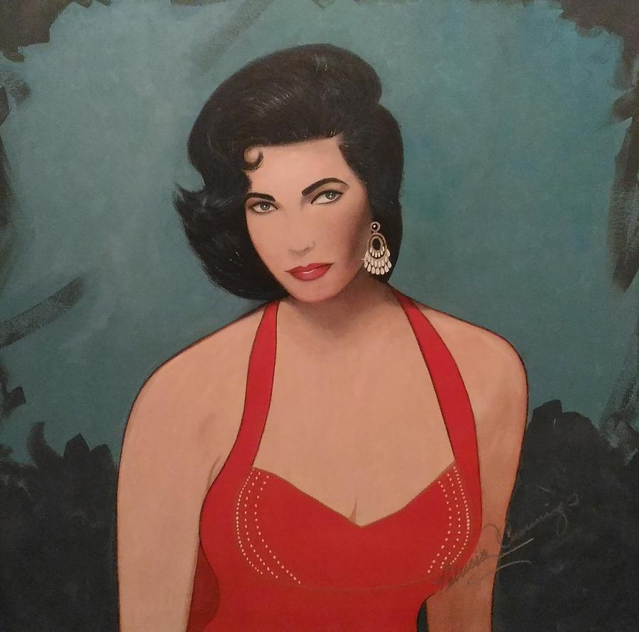 Elizabeth Taylor - Absolutely Beautiful by Patricia Brewer-Cummings