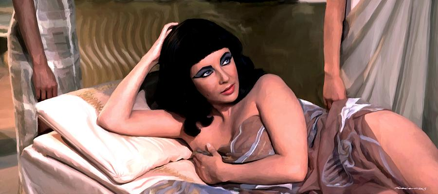Elizabeth Taylor star in the film Cleopatra by Gabriel T Toro