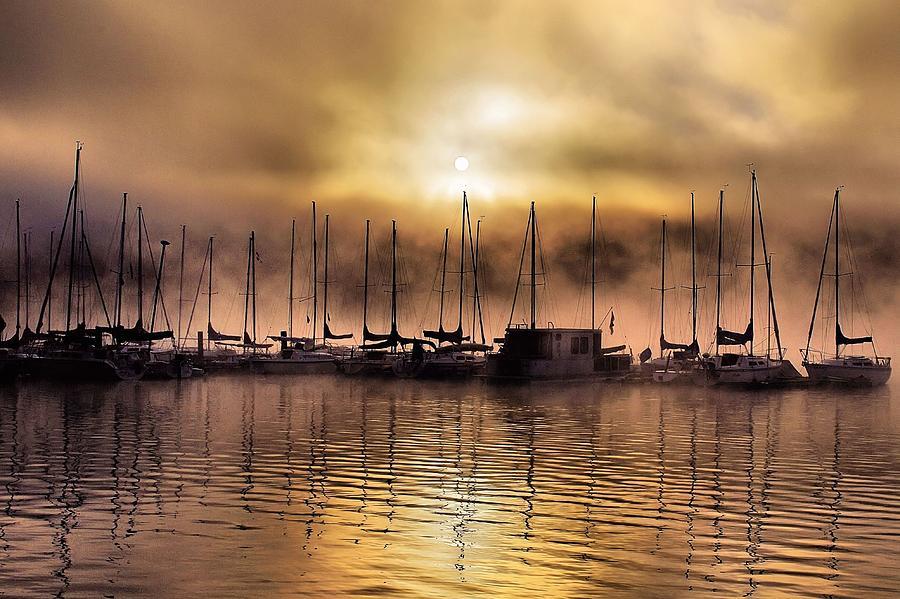 Elk Lake Photograph - Elk Lake Morning  by Don Siebel
