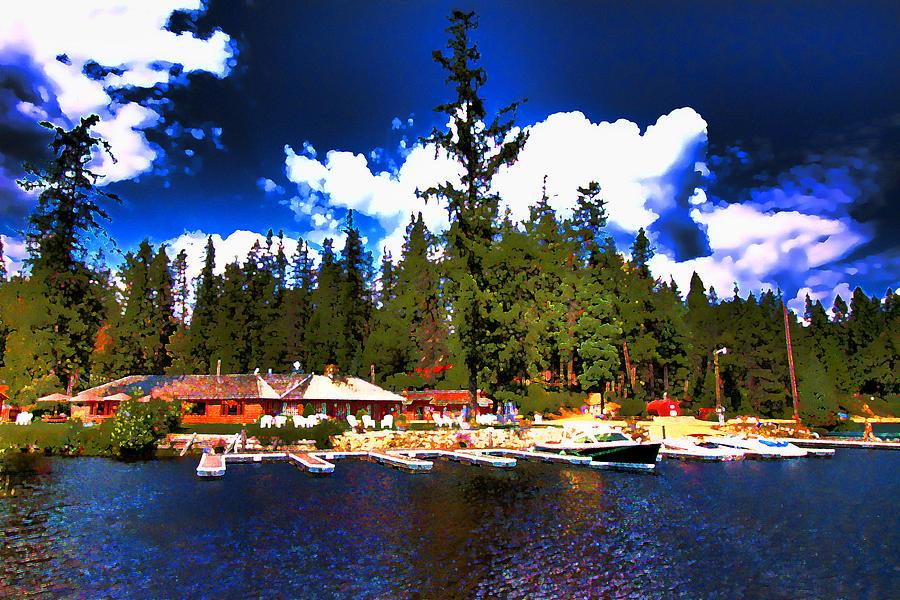 Elkins Resort Digital Art - Elkins Resort by David Patterson