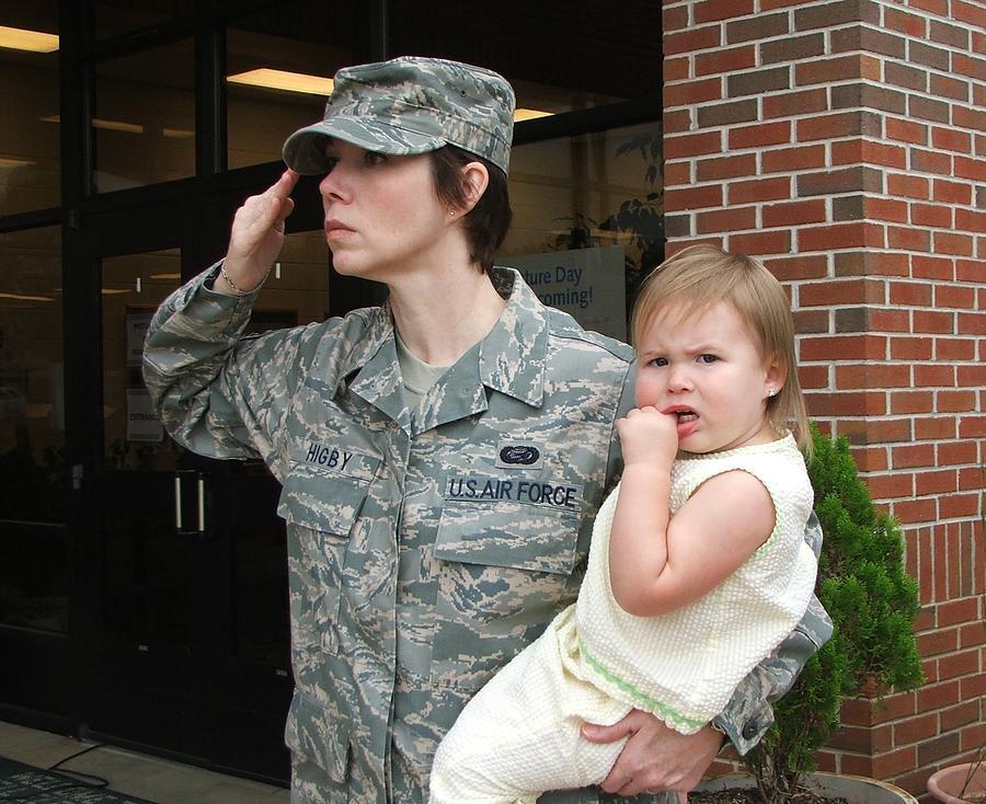 Military Photograph - Ella  by Mona McClave Dunson