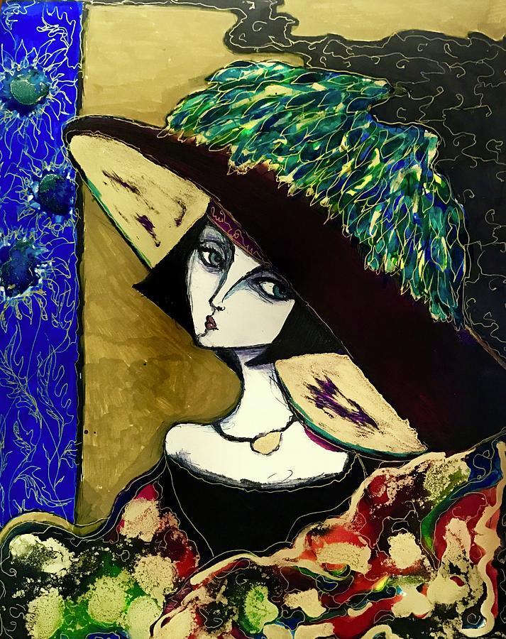 Velvet Hat by Rae Chichilnitsky