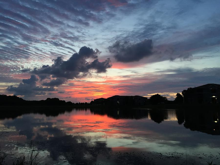 Ellenton Lake Sunset 03 by Jonathan Sabin