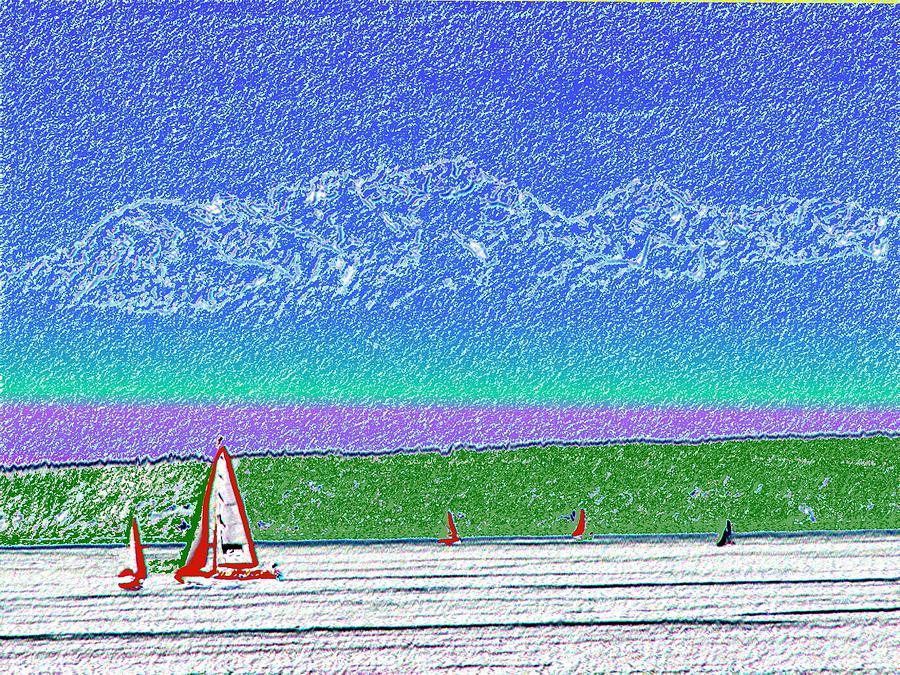 Seattle Relief - Elliott Bay Sail by Tim Allen