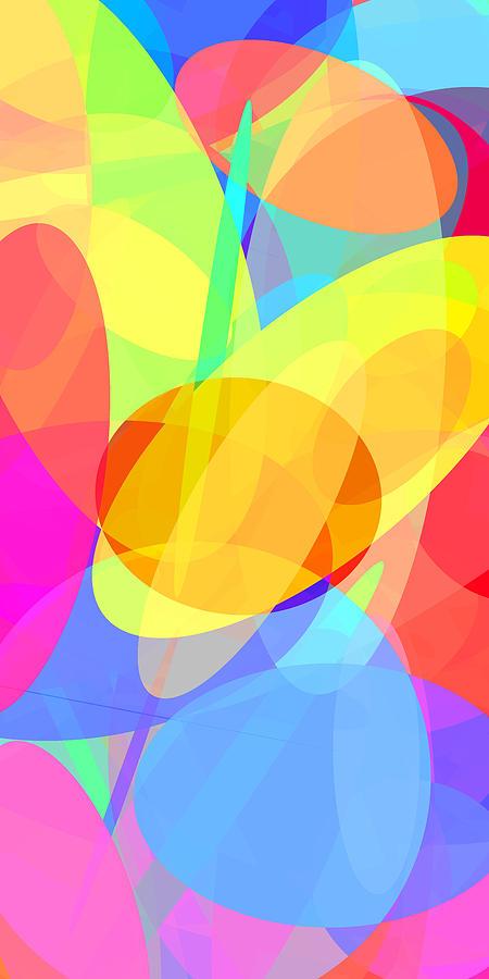 Ellipse Digital Art - Ellipses 1 by Chris Butler