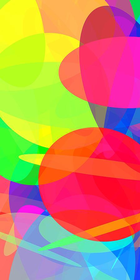 Ellipse Digital Art - Ellipses 11 by Chris Butler