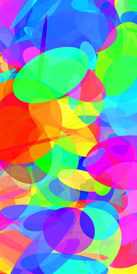 Ellipse Digital Art - Ellipses 20 by Chris Butler
