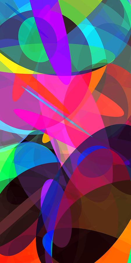 Ellipse Digital Art - Ellipses 4 by Chris Butler