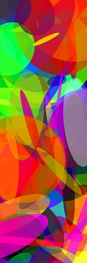 Ellipse Digital Art - Ellipses 6 by Chris Butler