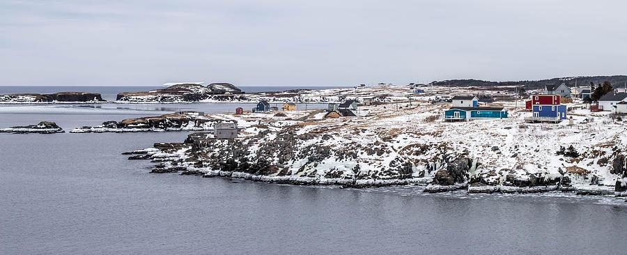 Elliston in Winter, Newfoundland by Crystal Fudge