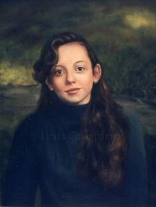 Ellyn Painting by Linda Champanier