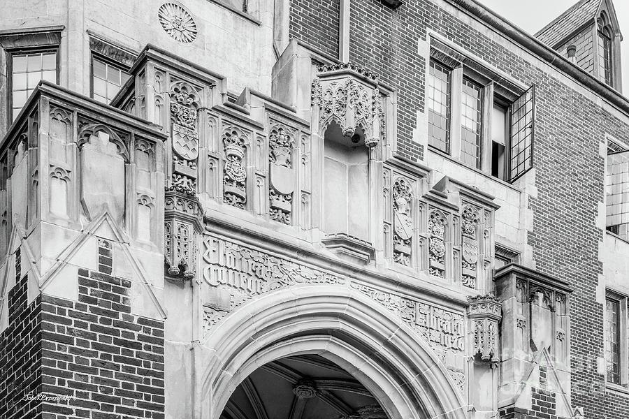 Elmira College Photograph - Elmira College Hamilton Hall by University Icons