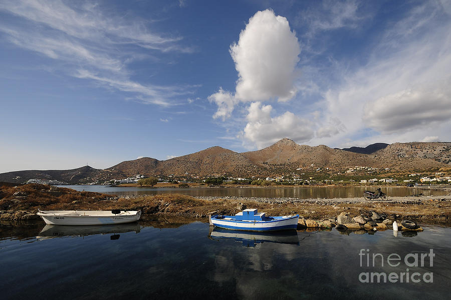 Elounda Photograph - Elounda, Crete by Smart Aviation