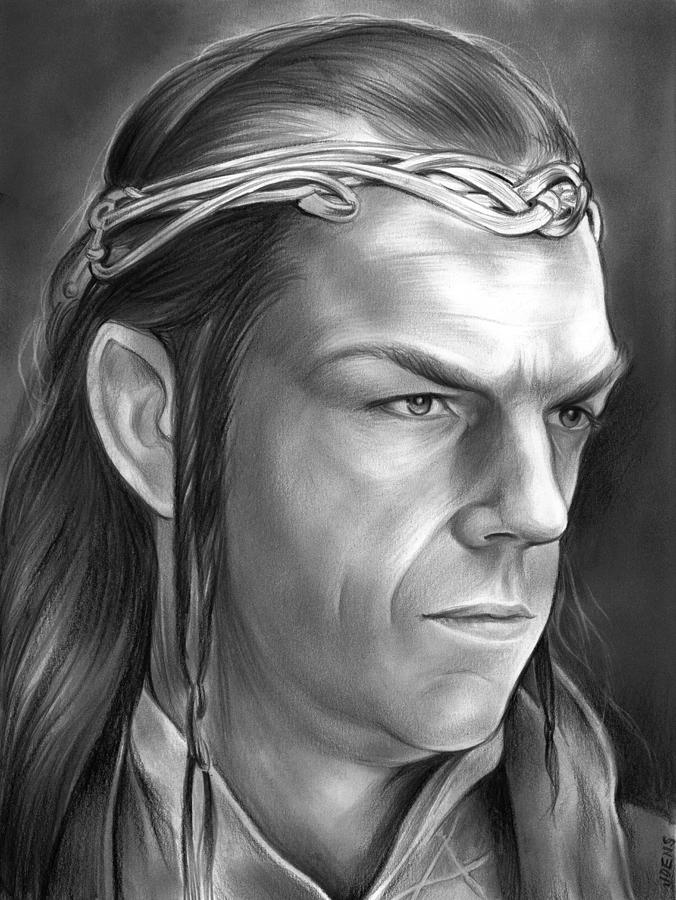 Elrond Drawing