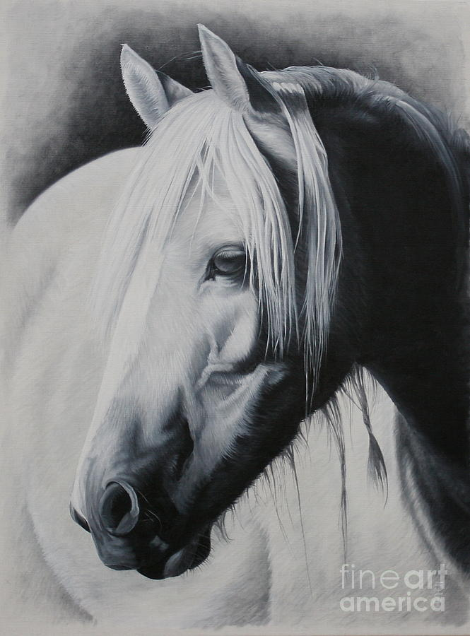 Portrait Painting - Elsa-free Spirit by Pauline Sharp