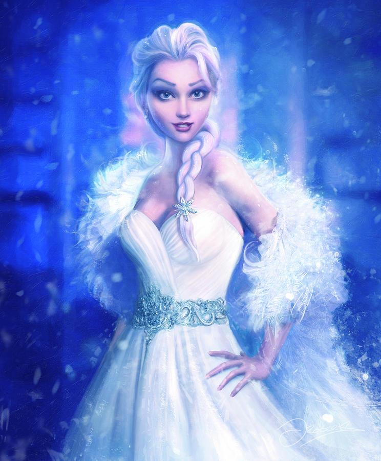 Elsa Painting - Elsa by Joe Roberts